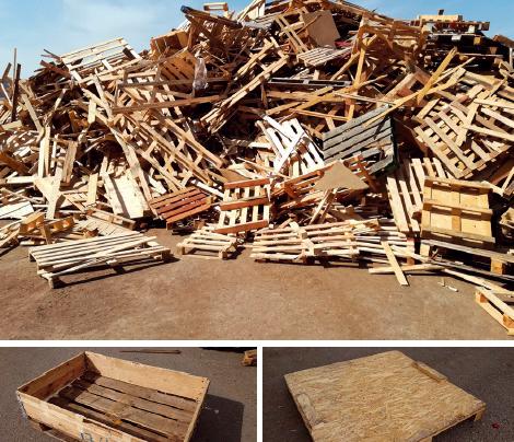 Nastává doba recyklace dřevěného odpadu